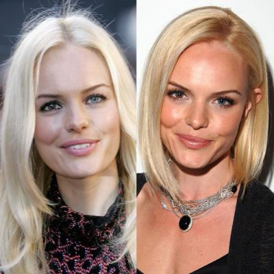 Kate Bosworth Short Hair Makeover