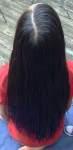 Hair before cut 5