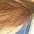 Hair in natural sunlight