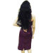 Indian bouncy fluffy wavy shiny glossy black virgin hair_image 1