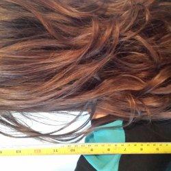 11-12in virgin brown hair