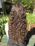 Brown Curly Hair kb