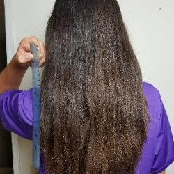 Virgin chestnut hair