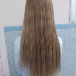 Long virgin hair