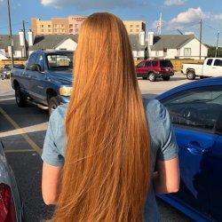 Red virgin hair
