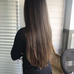 18 inches Virgin hazel brown hair
