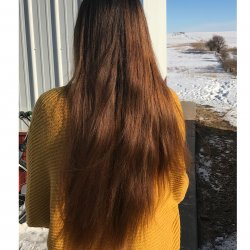 Virgin brown hair