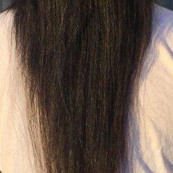 Hair let down